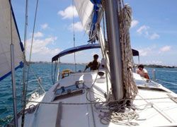 馬公本島風帆遊艇體驗!