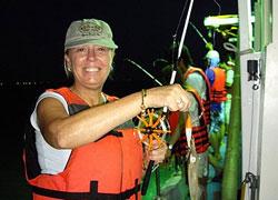 馬公本島東海海域夜釣小管!