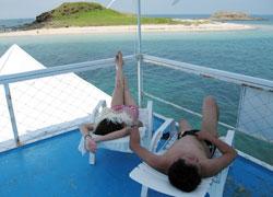 南海七美島,珊瑚礁專船探訪無人島!